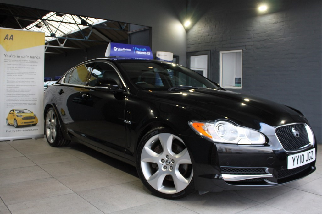 used Jaguar XF V6 S PORTFOLIO in staffordshire