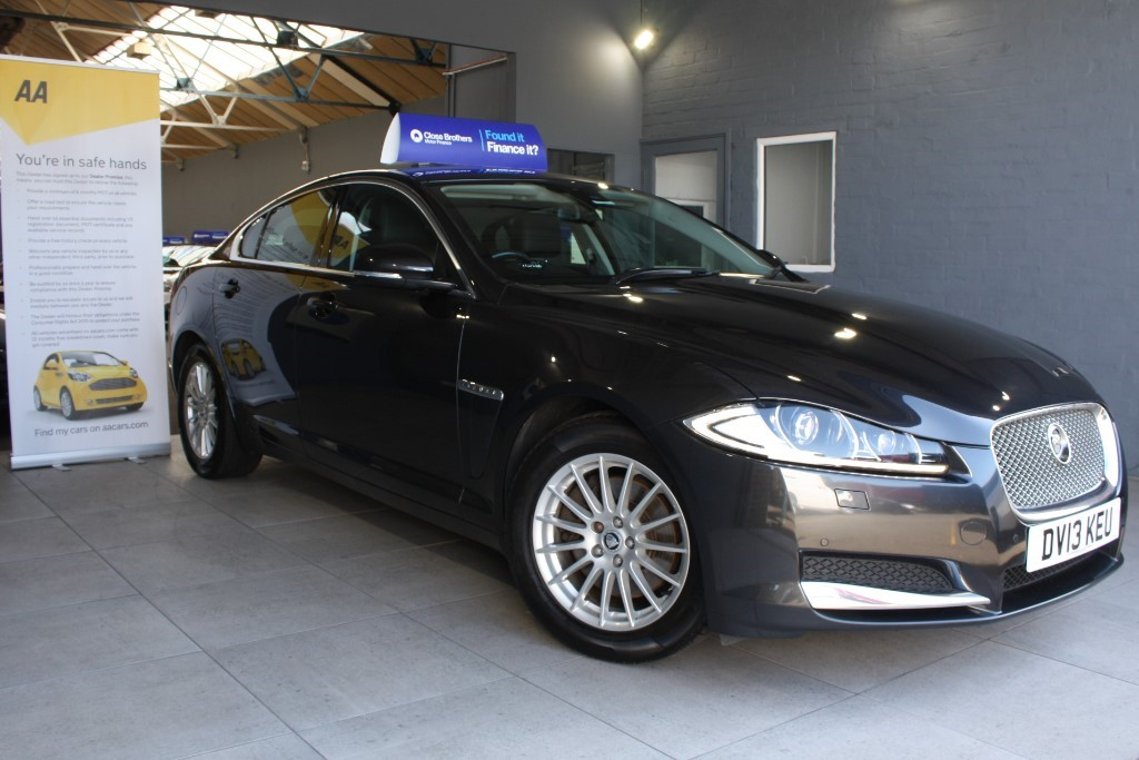 used Jaguar XF D SE BUSINESS in staffordshire