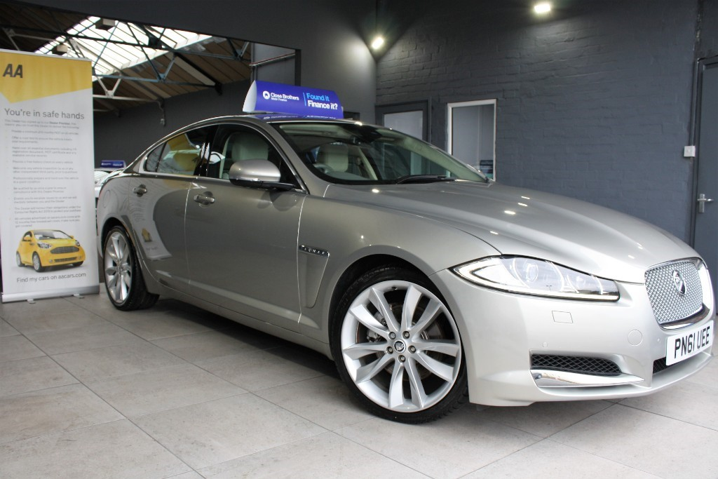 used Jaguar XF D PORTFOLIO in staffordshire