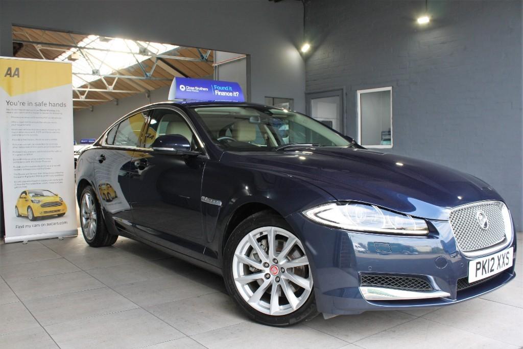 used Jaguar XF V6 LUXURY in staffordshire