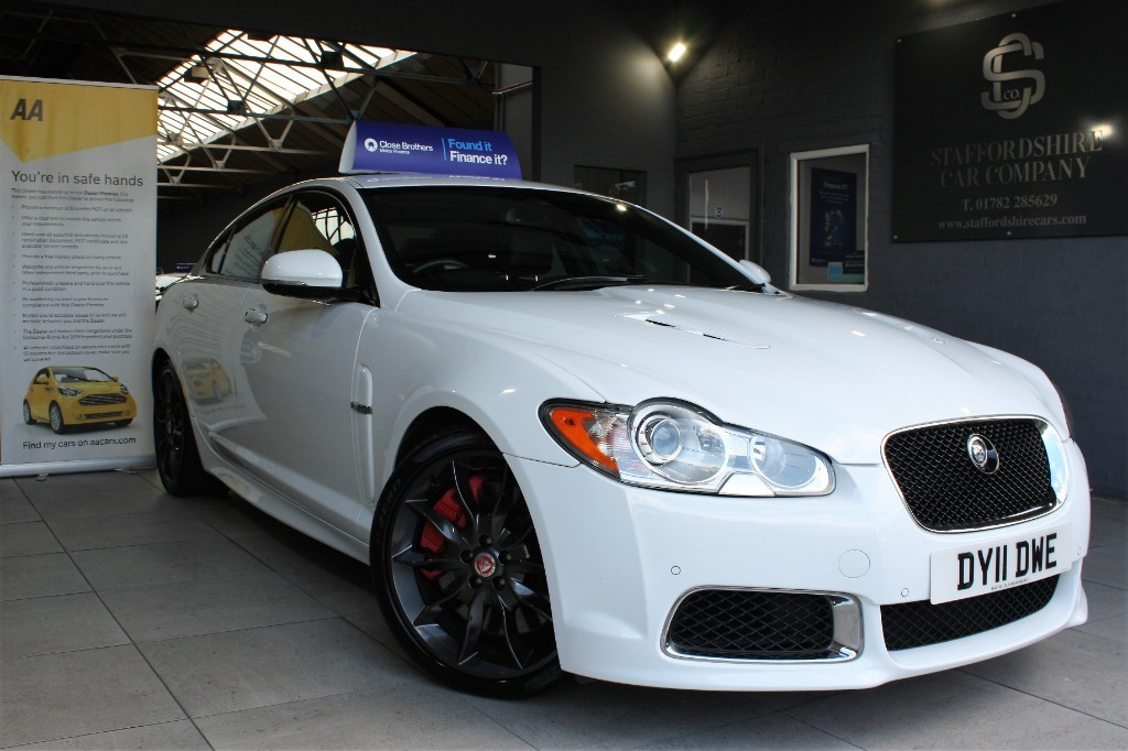 used Jaguar XFR V8 R100 SUPERCHARGED in staffordshire
