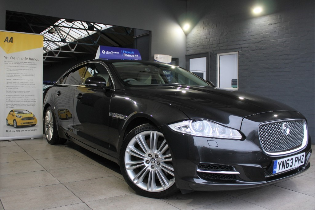 used Jaguar XJ D V6 PORTFOLIO in staffordshire