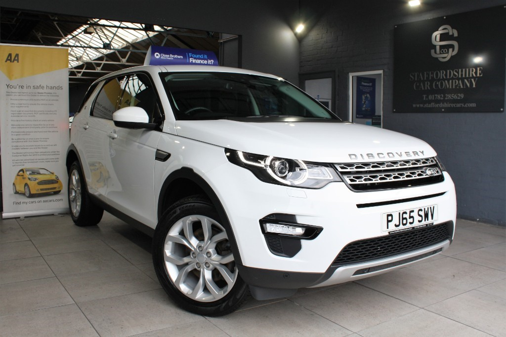 used Land Rover Discovery Sport TD4 HSE 4WD in staffordshire