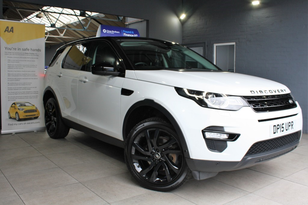 used Land Rover Discovery Sport TD4 HSE LUXURY in staffordshire