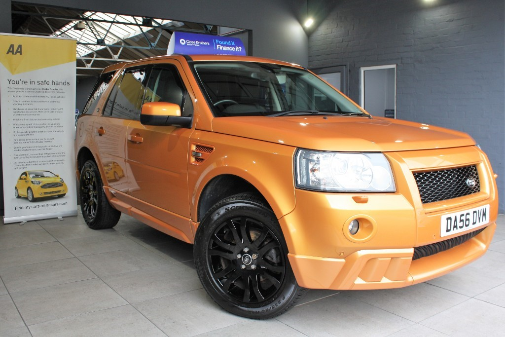 used Land Rover Freelander TD4 HSE in staffordshire