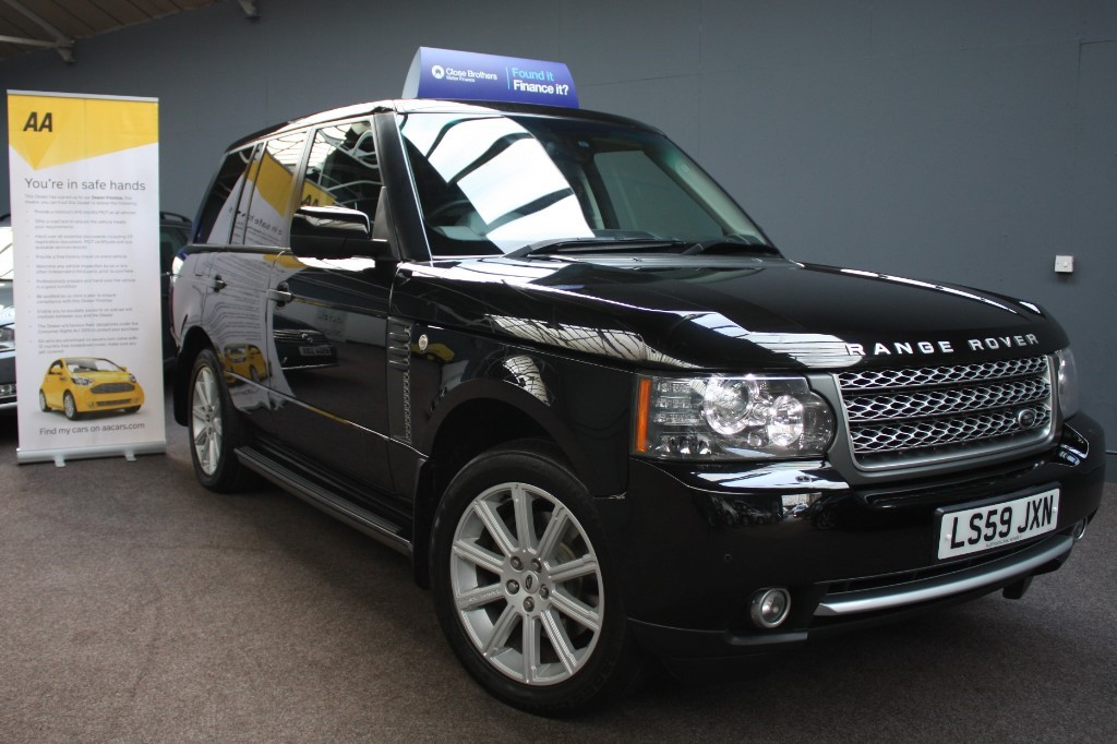 used Land Rover Range Rover TDV8 AUTOBIOGRAPHY in staffordshire
