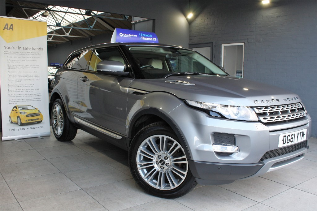 used Land Rover Range Rover Evoque SD4 PRESTIGE in staffordshire