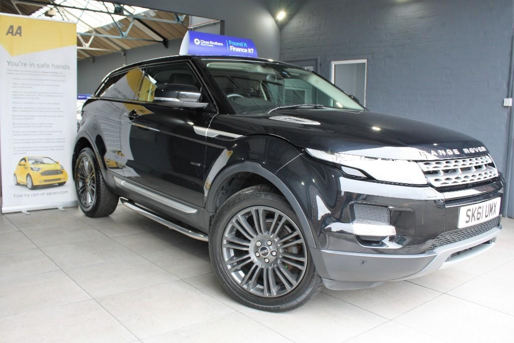 used Land Rover Range Rover Evoque SD4 PRESTIGE in staffordshire