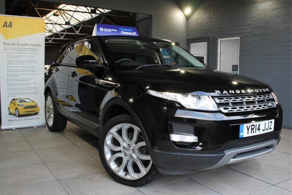 used Land Rover Range Rover Evoque SD4 PURE TECH in staffordshire