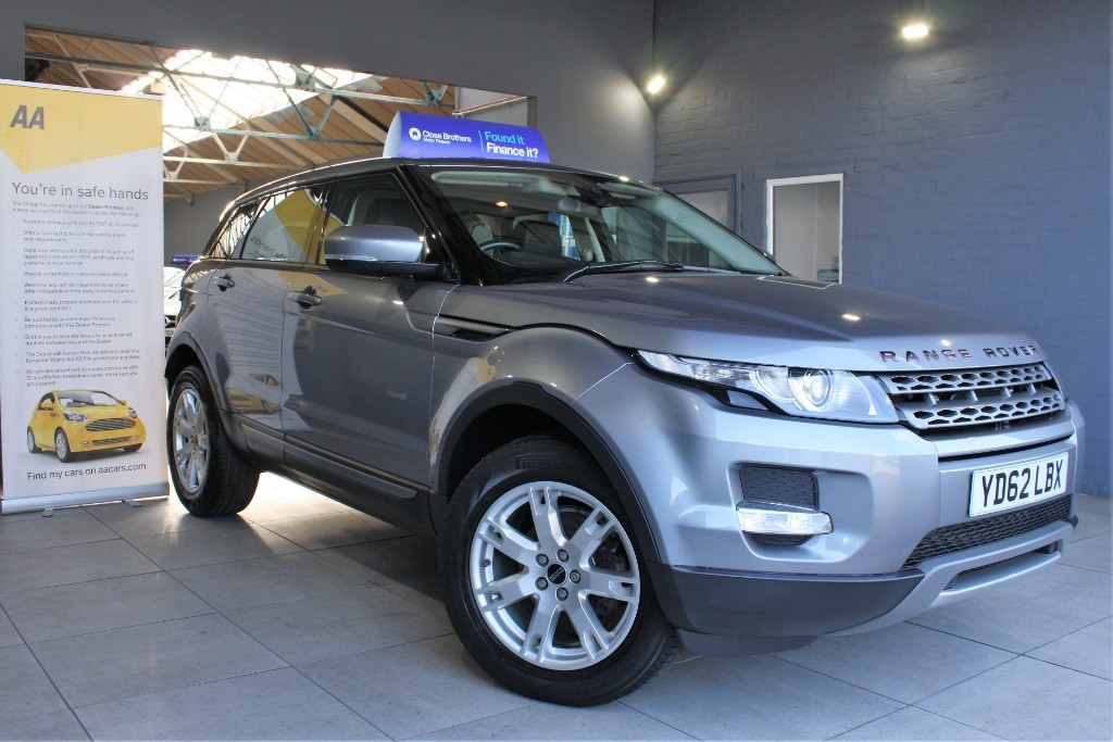used Land Rover Range Rover Evoque SD4 PURE in staffordshire