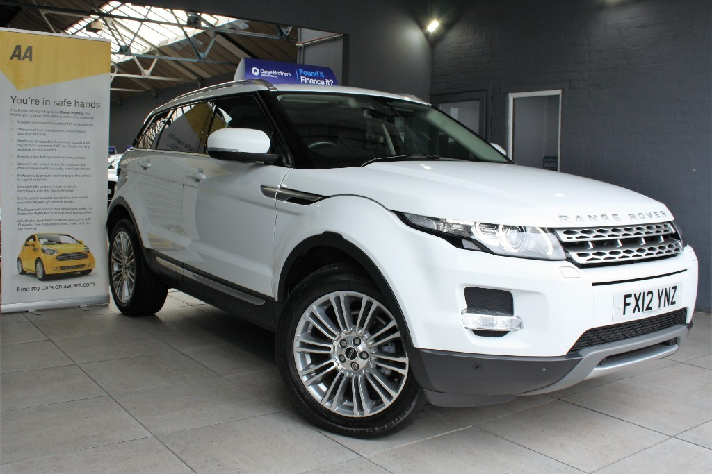 used Land Rover Range Rover Evoque SD4 PRESTIGE LUX in staffordshire