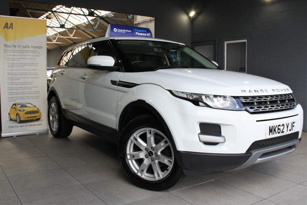 used Land Rover Range Rover Evoque ED4 PURE in staffordshire