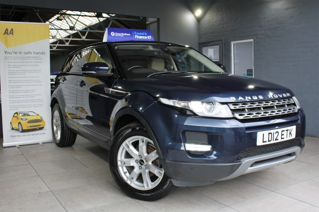 used Land Rover Range Rover Evoque ED4 PURE TECH in staffordshire