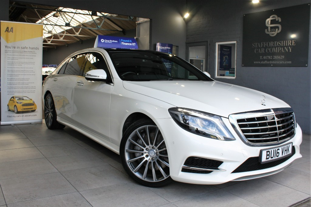 used Mercedes 350 S  D L AMG LINE in staffordshire