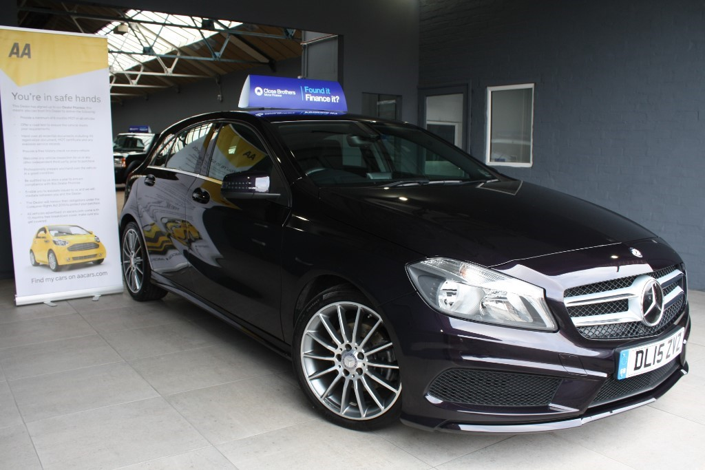used Mercedes A200 BLUEEFFICIENCY AMG SPORT in staffordshire
