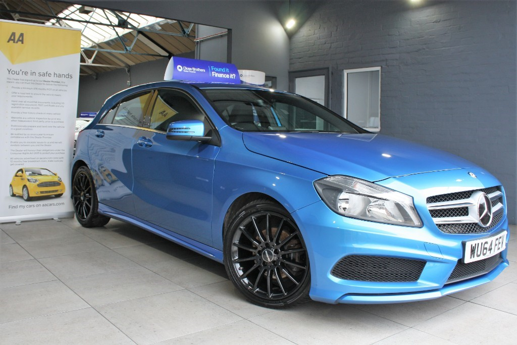 used Mercedes A200 CDI AMG SPORT in staffordshire