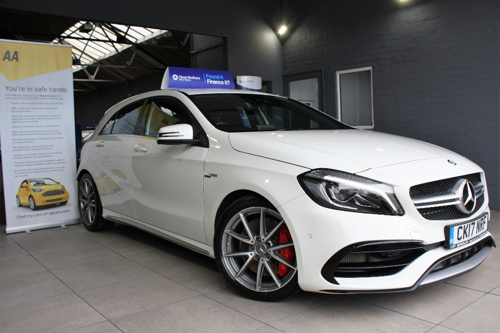 used Mercedes A45 AMG 4MATIC in staffordshire
