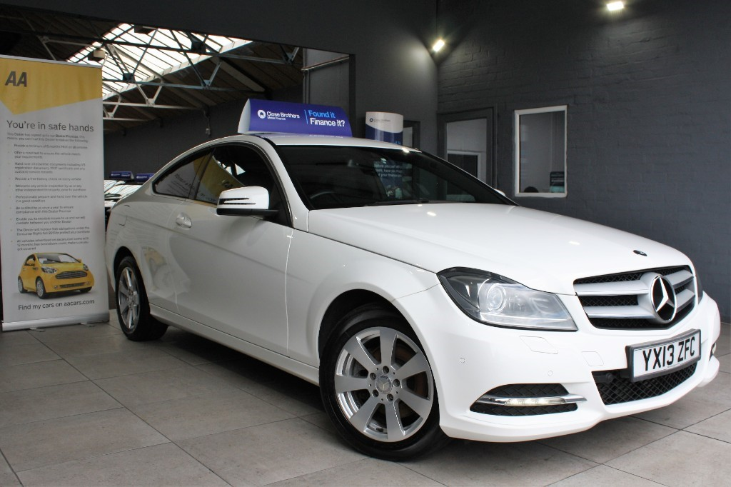 used Mercedes C220 CDI BLUEEFFICIENCY EXECUTIVE SE in staffordshire