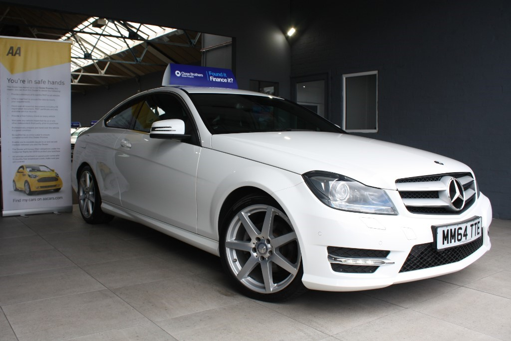 used Mercedes C220 CDI AMG SPORT EDITION PREMIUM in staffordshire