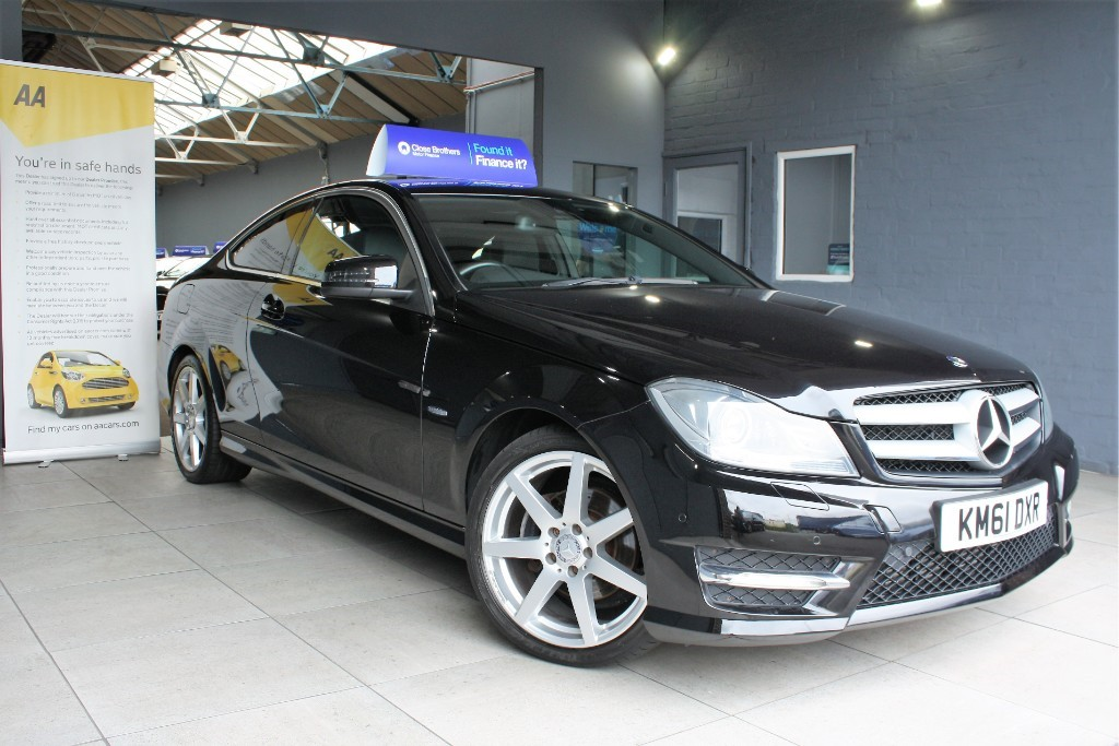 Used Black Mercedes C220 for Sale | Staffordshire