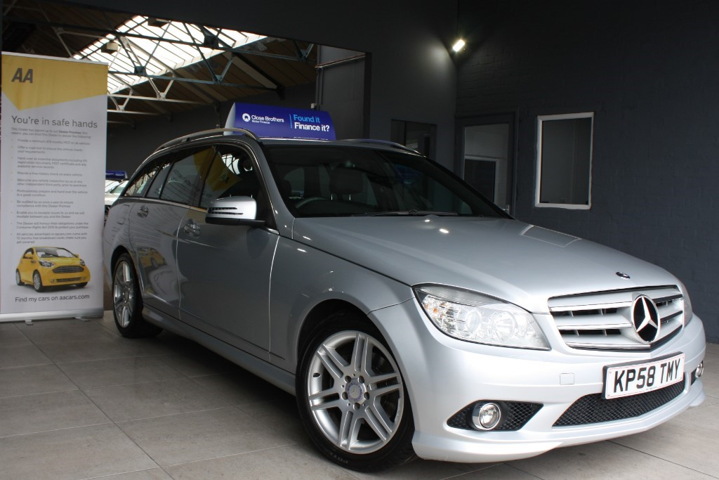 used Mercedes C220 CDI SPORT in staffordshire