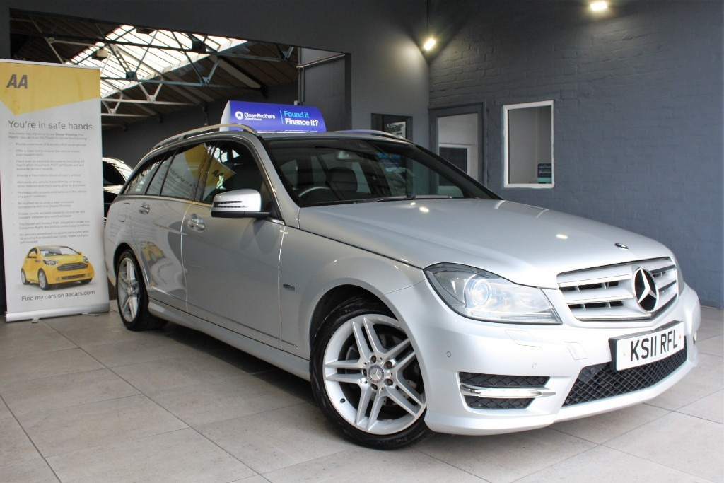used Mercedes C220 CDI BLUEEFFICIENCY SPORT ED125 in staffordshire