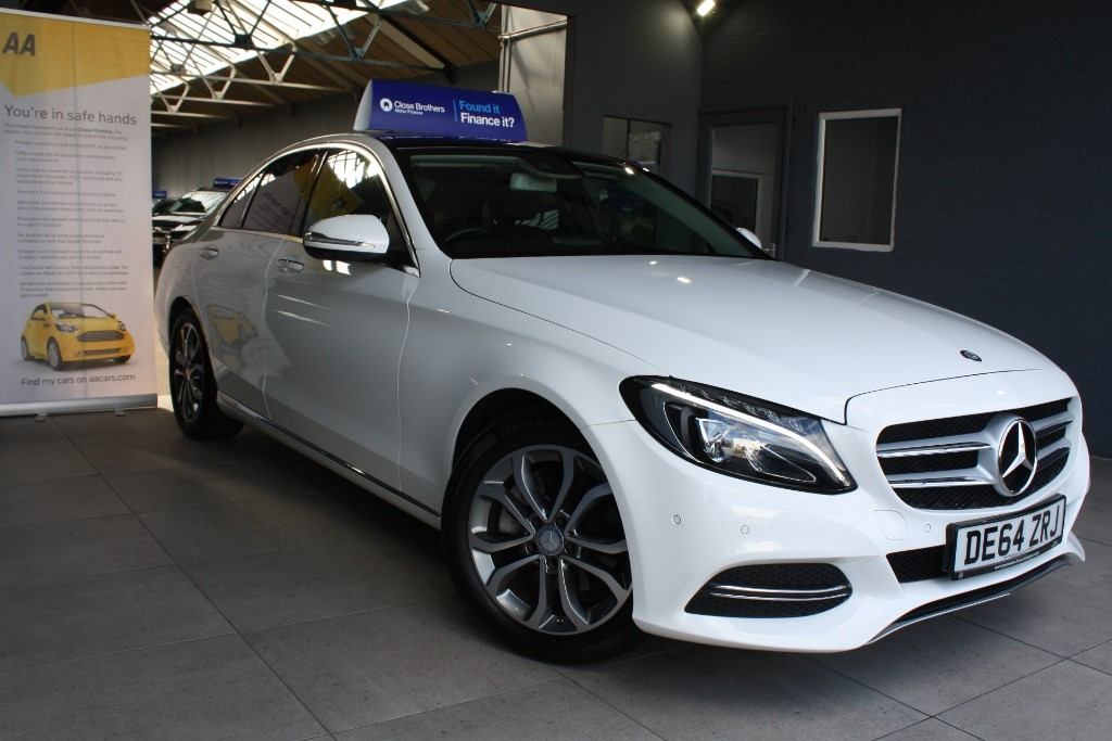 used Mercedes C220 BLUETEC SPORT PREMIUM PLUS in staffordshire