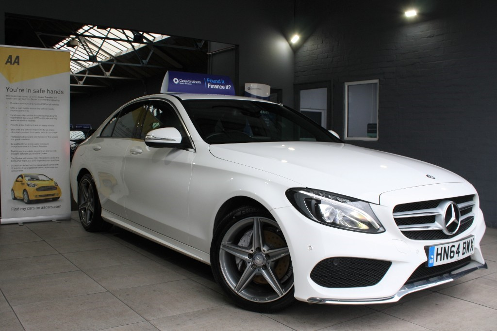 used Mercedes C220 BLUETEC AMG LINE in staffordshire