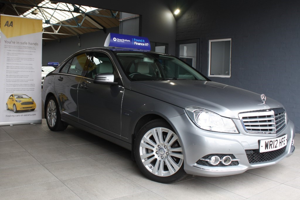 used Mercedes C220 ELEGANCE CDI BLUE EFFICENCY in staffordshire