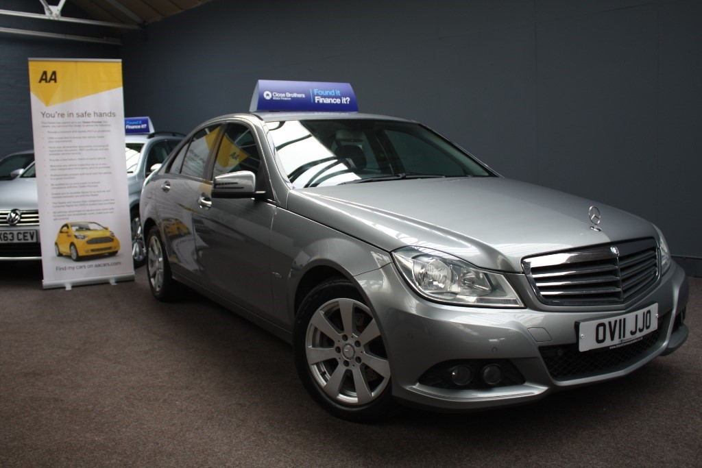 used Mercedes C220 CDI BLUEEFFICIENCY SE in staffordshire