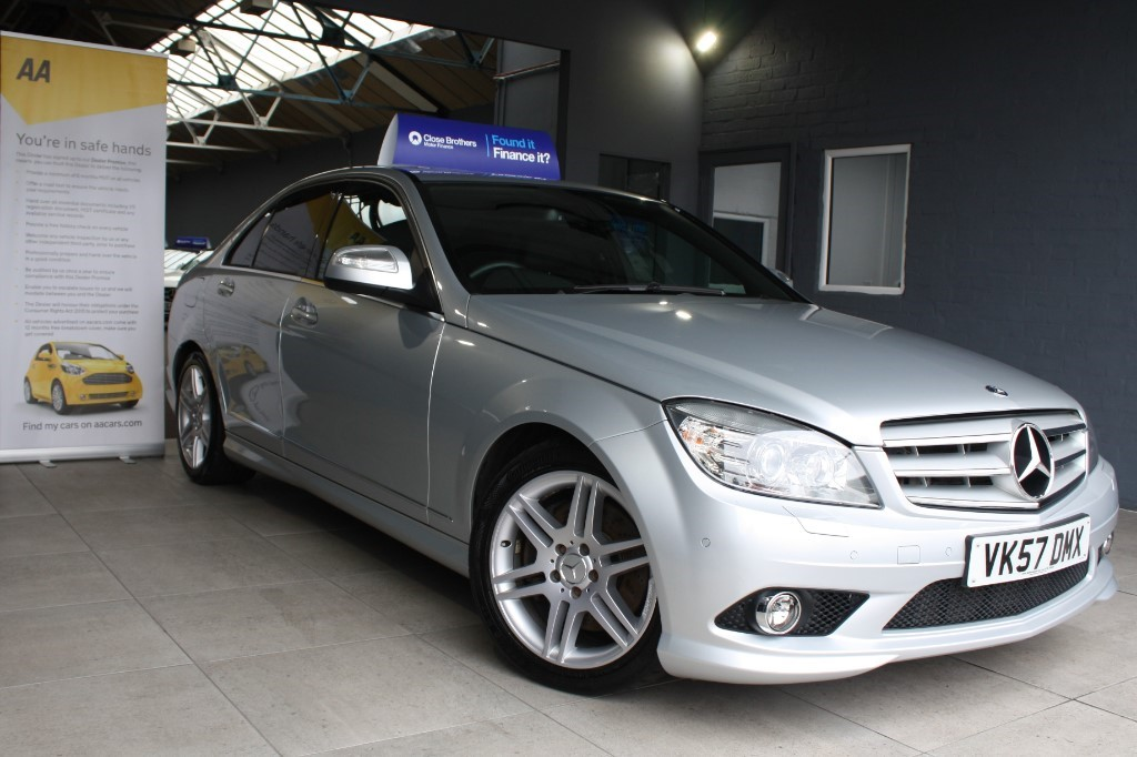used Mercedes C320 CDI SPORT in staffordshire