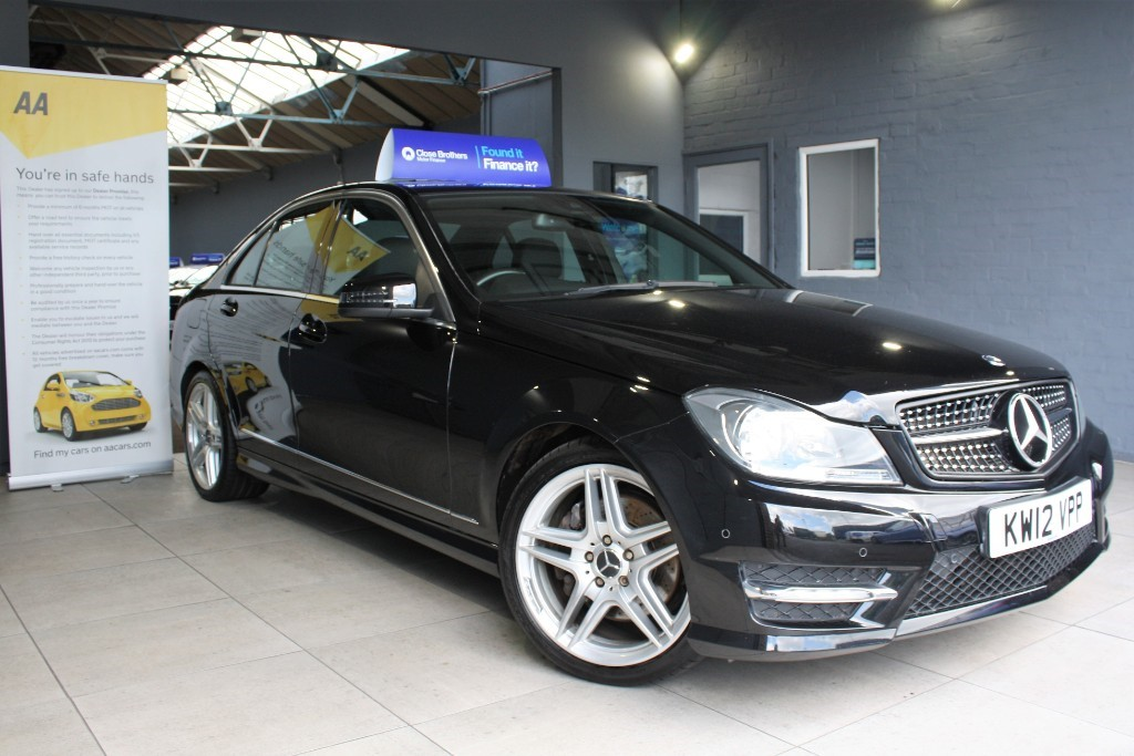 used Mercedes C350 CDI BLUEEFFICIENCY AMG SPORT in staffordshire