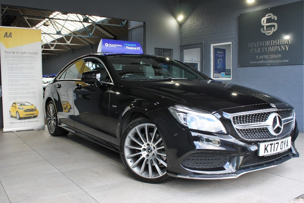used Mercedes CLS220 CLS220 D AMG LINE in staffordshire