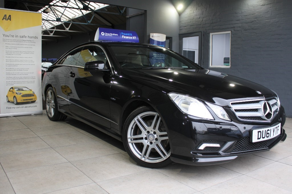 used Mercedes E220 CDI BLUEEFFICIENCY SPORT ED125 in staffordshire