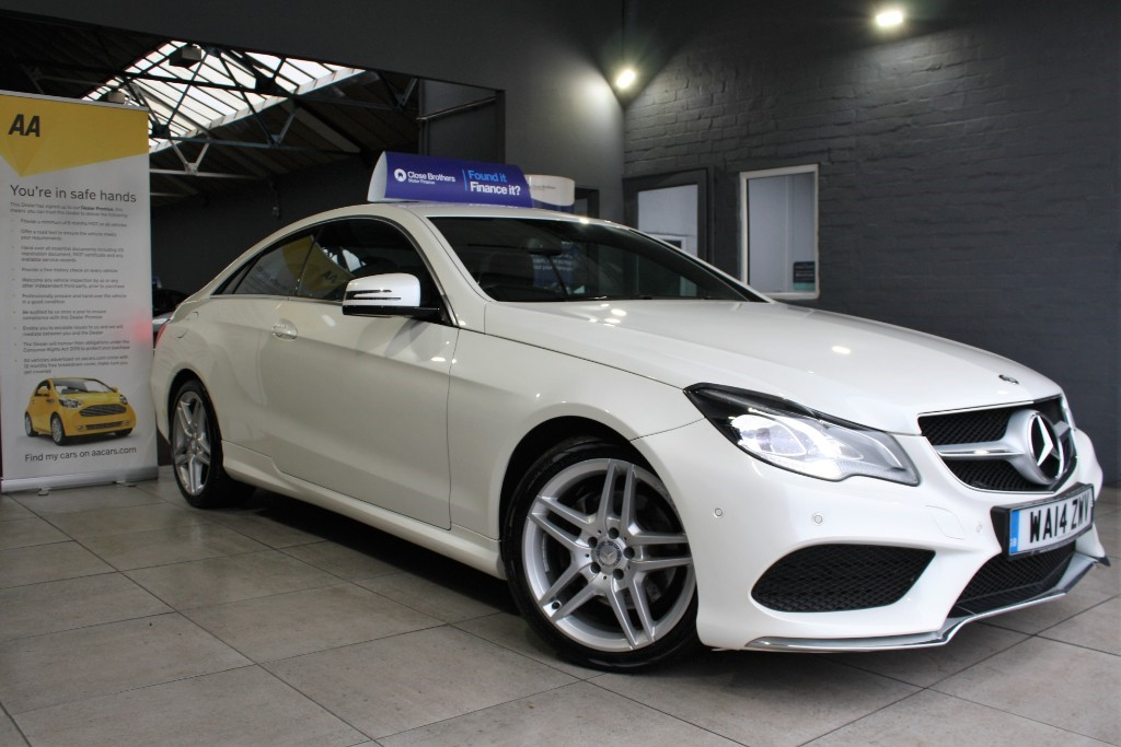 used Mercedes E220 CDI AMG SPORT in staffordshire
