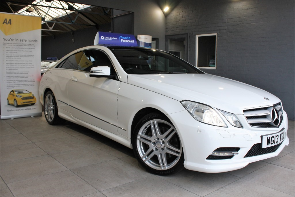used Mercedes E250 CDI BLUEEFFICIENCY S/S SPORT in staffordshire