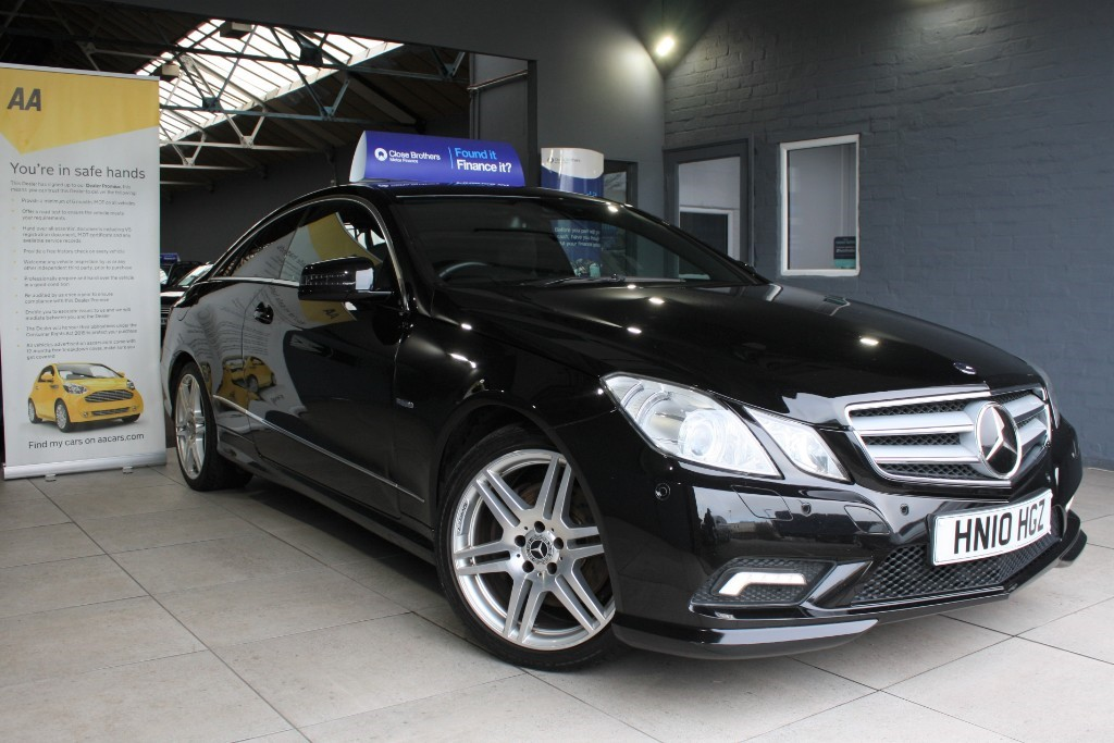 used Mercedes E350 CDI BLUEEFFICIENCY SPORT in staffordshire