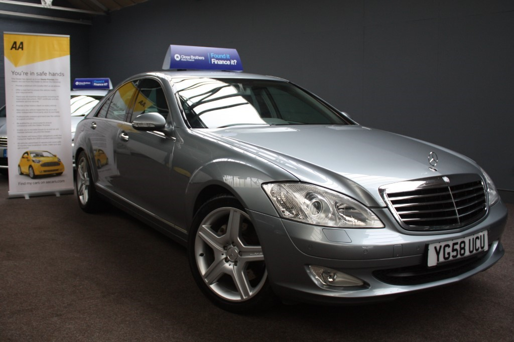 used Mercedes S320 S320 CDI Auto in staffordshire