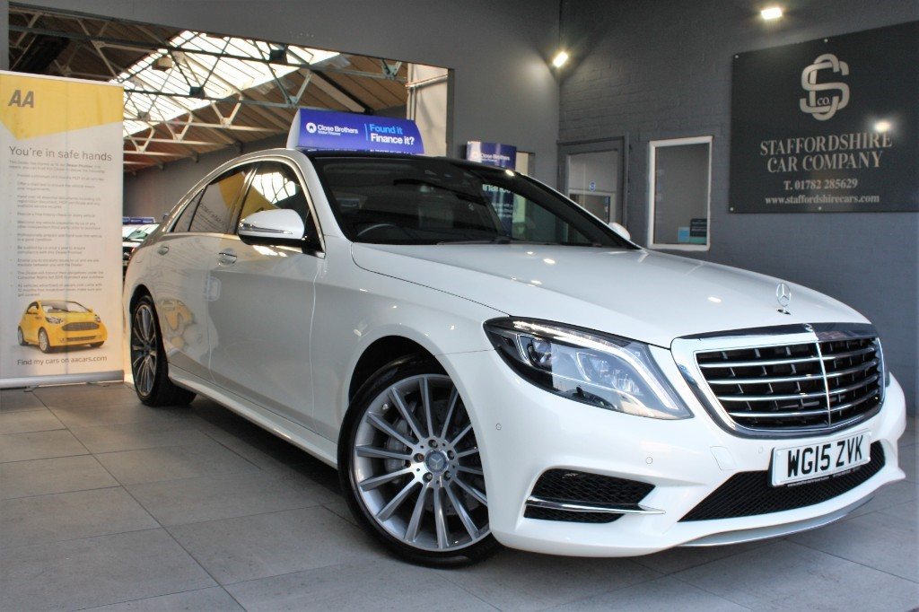 used Mercedes S350 BLUETEC AMG LINE in staffordshire