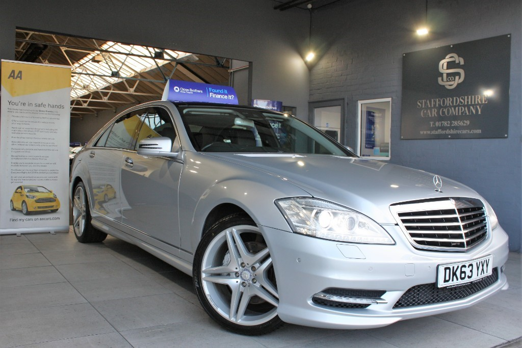 used Mercedes S350L BLUETEC AMG SPORT EDITION in staffordshire