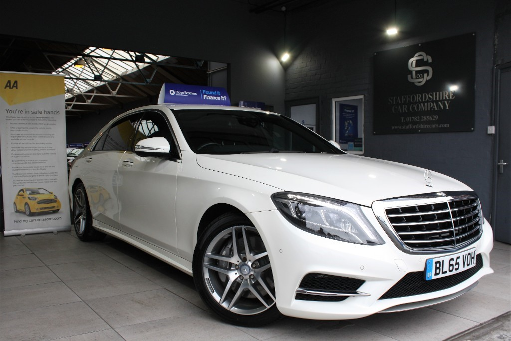 used Mercedes S350L S350L AMG LINE in staffordshire