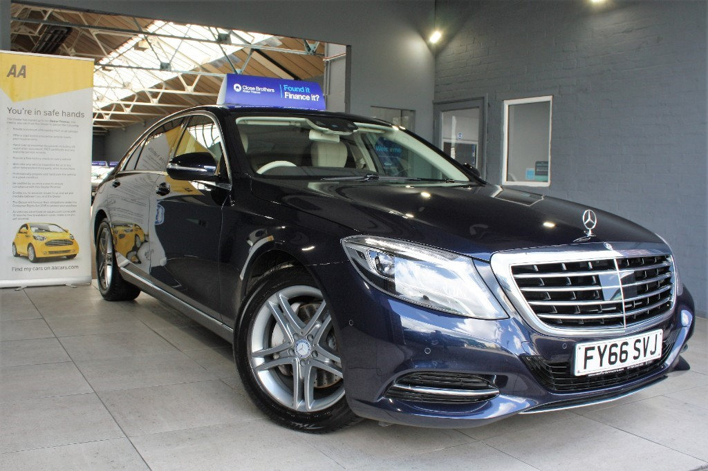 used Mercedes S350L S 350 D L SE EXECUTIVE in staffordshire