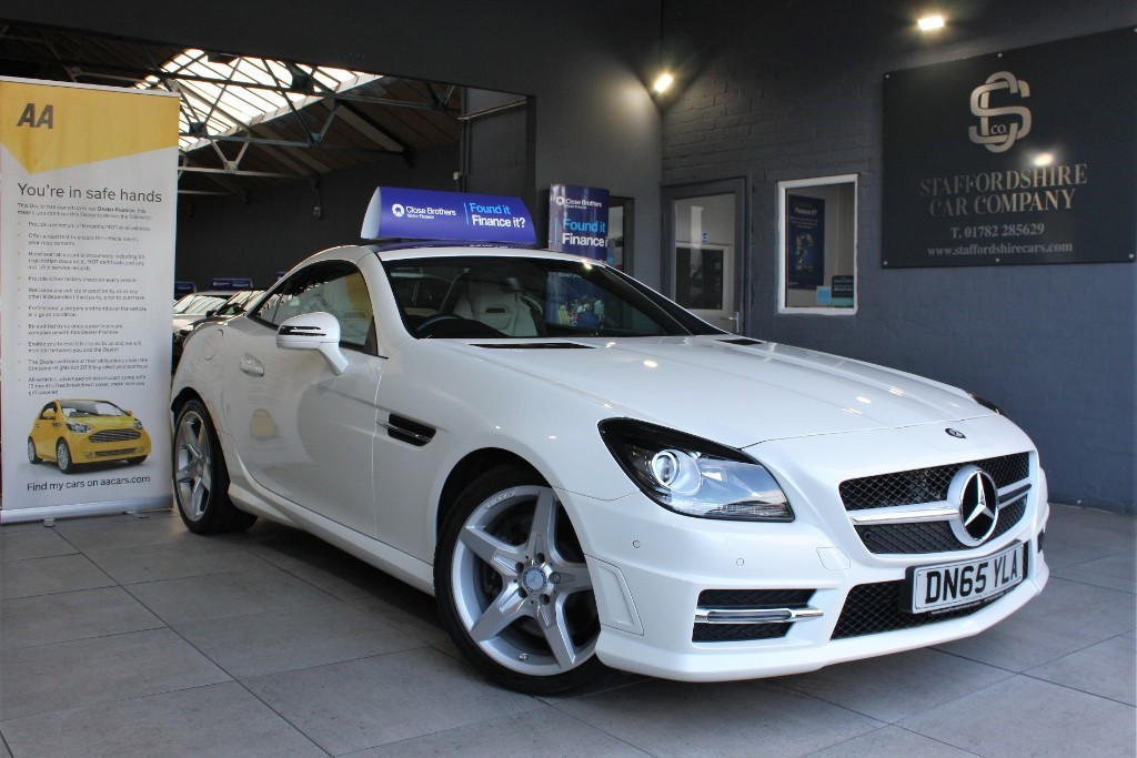 used Mercedes  SLK 250 D AMG SPORT in staffordshire