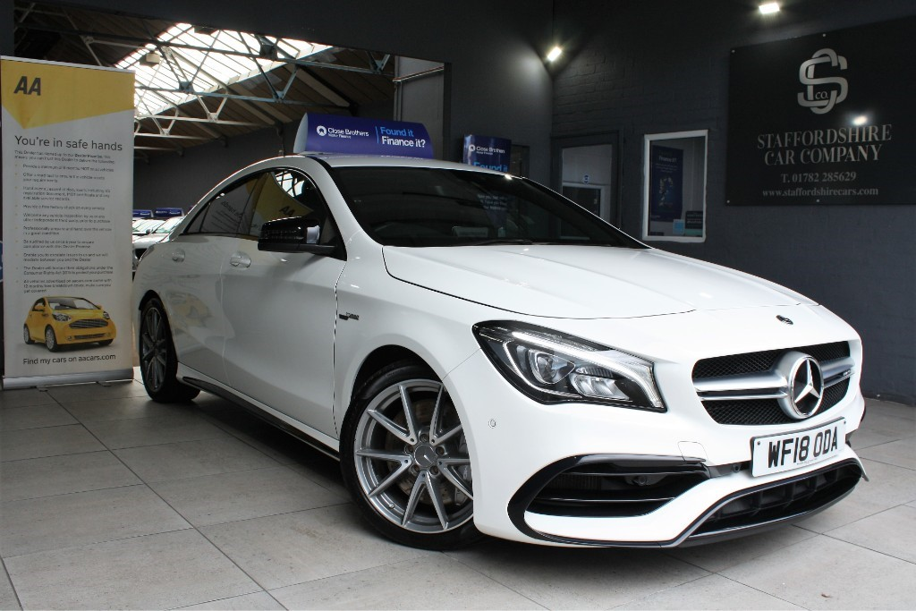used Mercedes CLA45 AMG AMG CLA 45 4MATIC in staffordshire