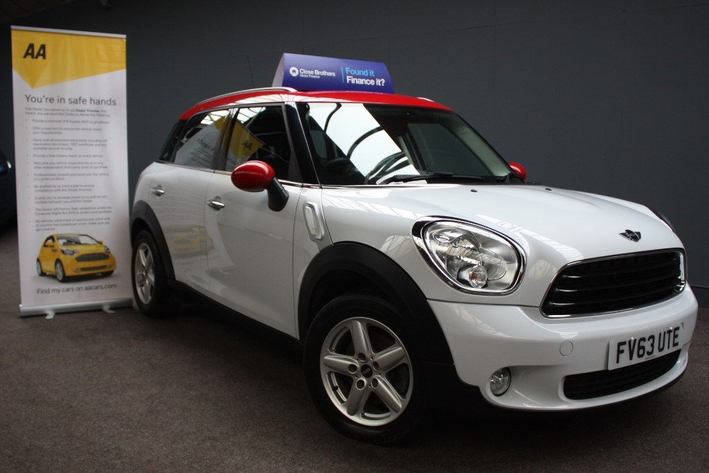 used MINI Countryman ONE D in staffordshire