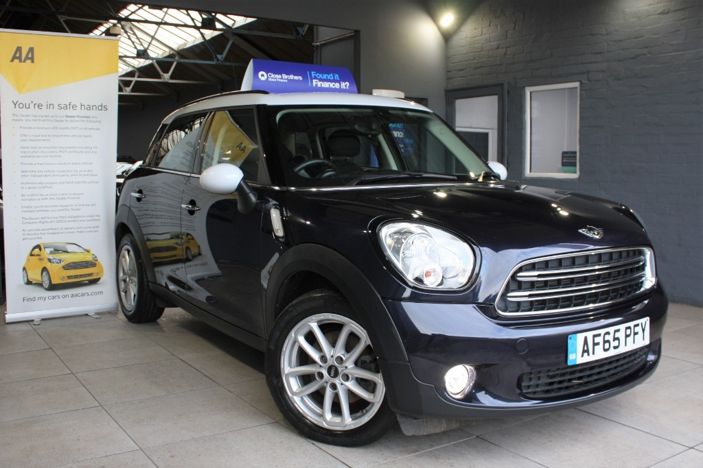 used MINI Countryman COOPER D in staffordshire