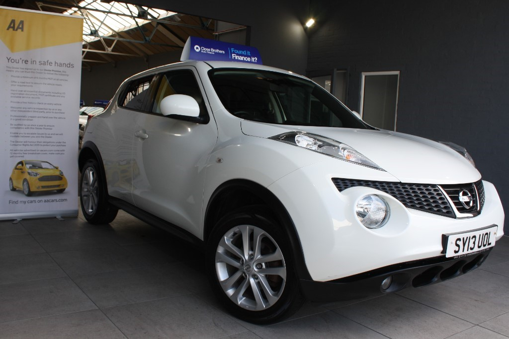 used Nissan Juke ACENTA PREMIUM DCI in staffordshire