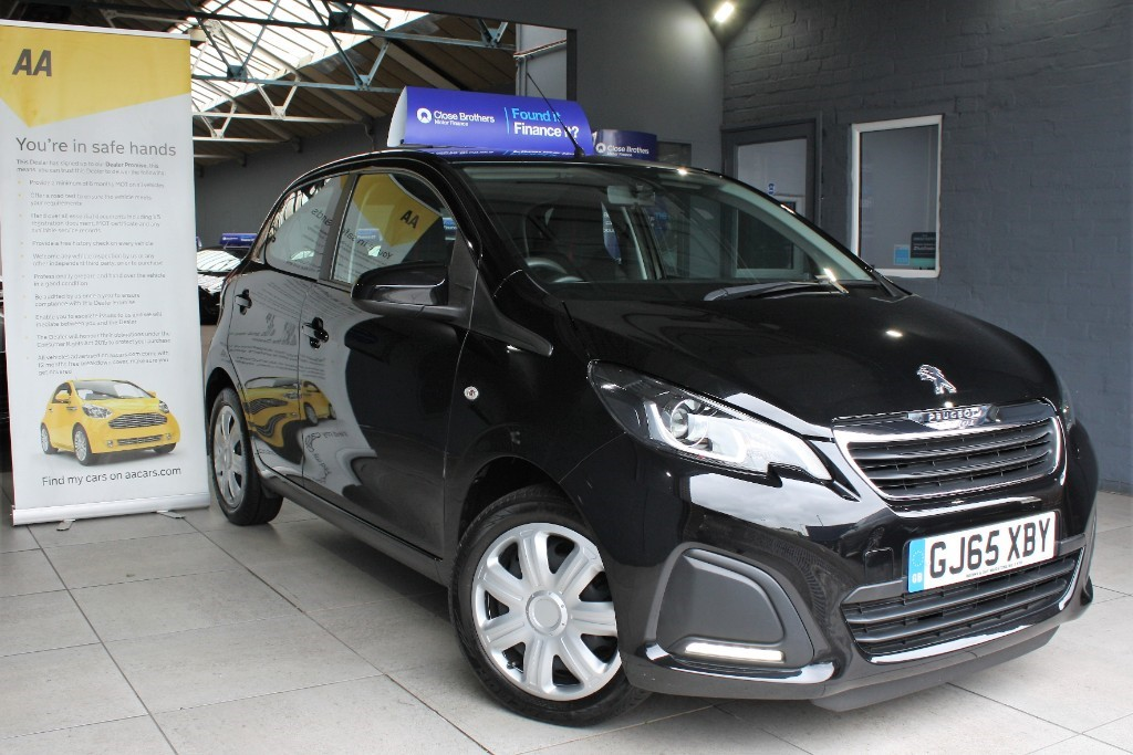 used Peugeot 108 ACTIVE in staffordshire