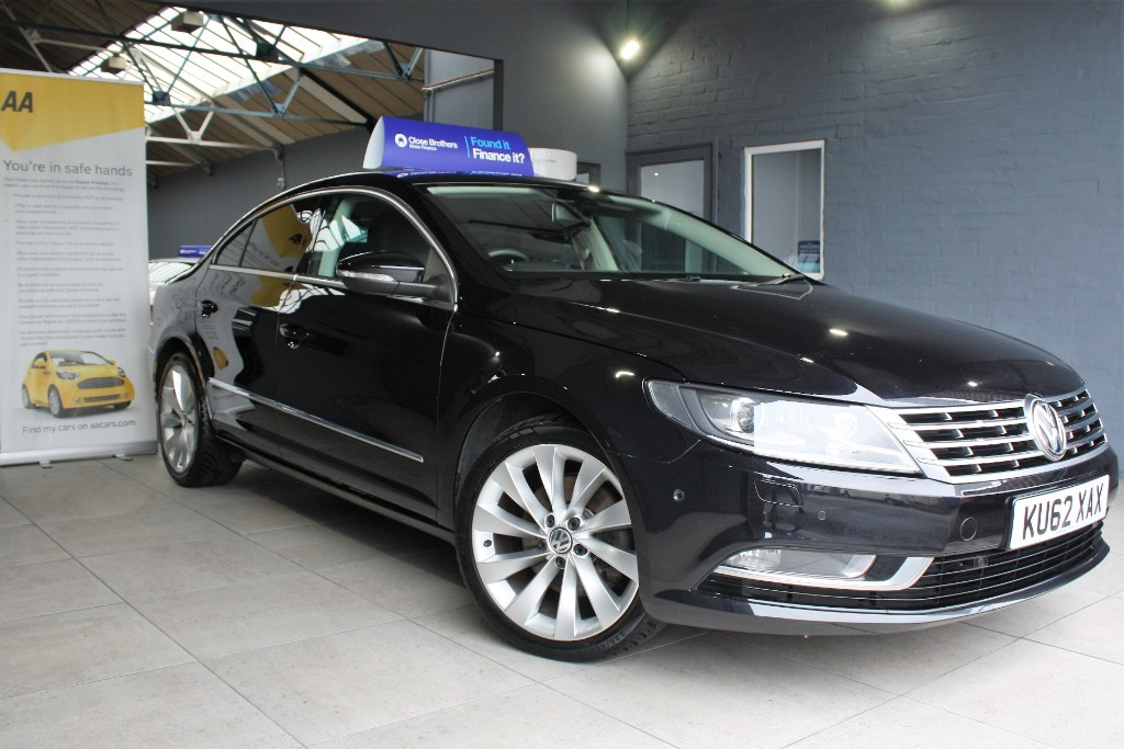 used VW CC GT TDI BLUEMOTION TECHNOLOGY DSG in staffordshire