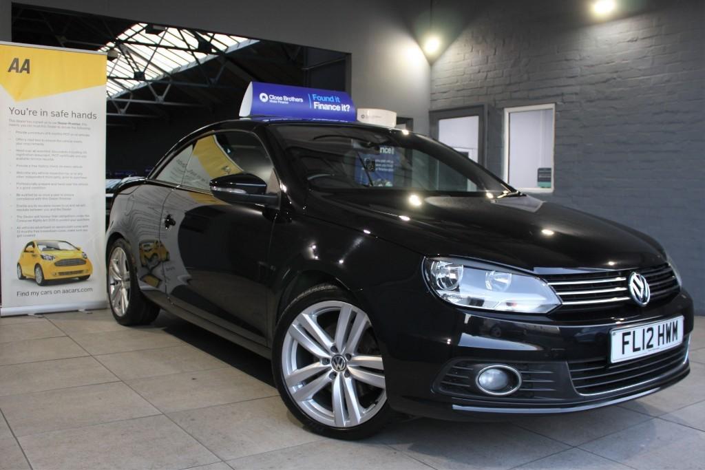 used VW Eos SPORT TDI BLUEMOTION TECHNOLOGY in staffordshire